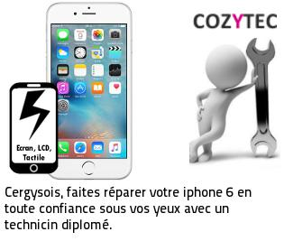 Reparation ecran iphone 6 Cergy
